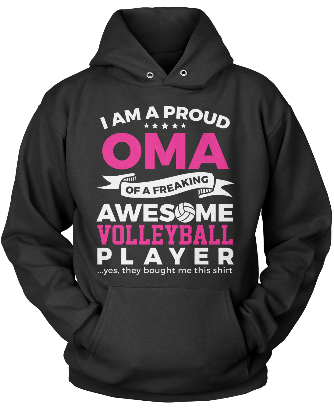 Proud Oma of An Awesome Volleyball Player