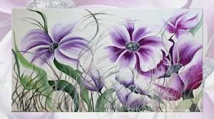 Risultati immagini per dipinto di fiori viola | dipinti | Pinterest ...