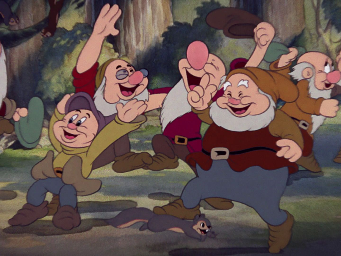 Snow white hand job seven dwarfs