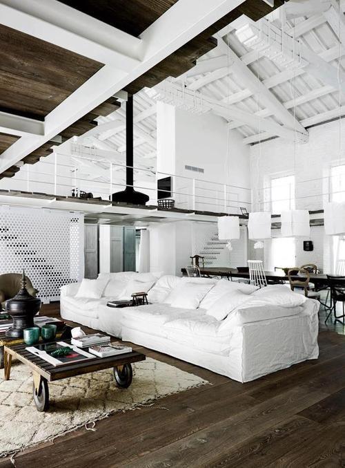 Loft style #home Home Pinterest Les salon moderne, Salons - Logiciel Pour Maison D