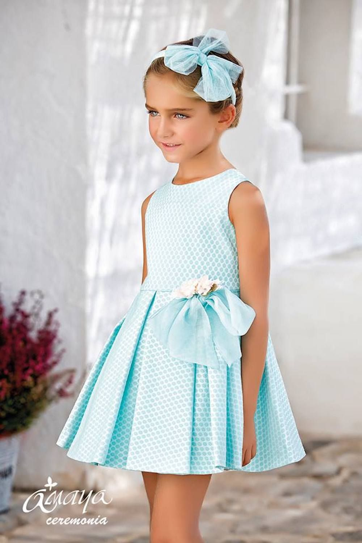 Artesanía Amaya Vestidos De Ceremonia Para Niñas Verano Minimoda Es Blog Moda Infantil Vestidos De Fiesta Para Niñas Vestidos Para Niñas Ropa Para Niñas
