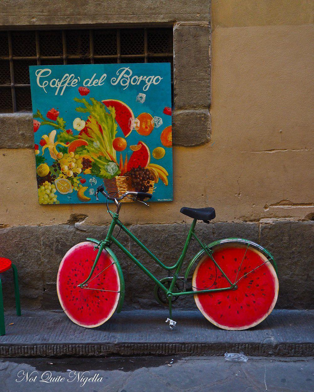 Pin By Kinga Size On Bikes Fahrrad Florence Tuscany Food Italy