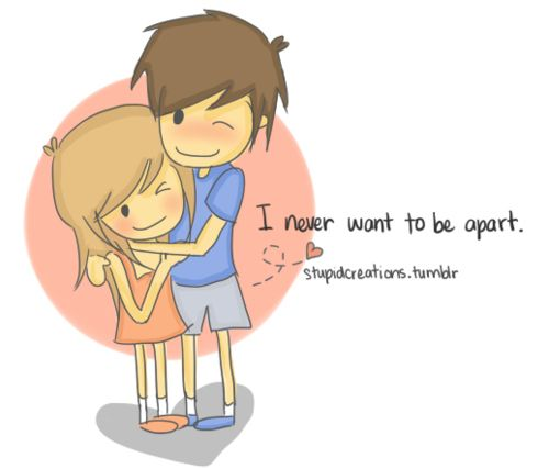 Loving Couple Cartoon Pictures With Quotes. QuotesGram by