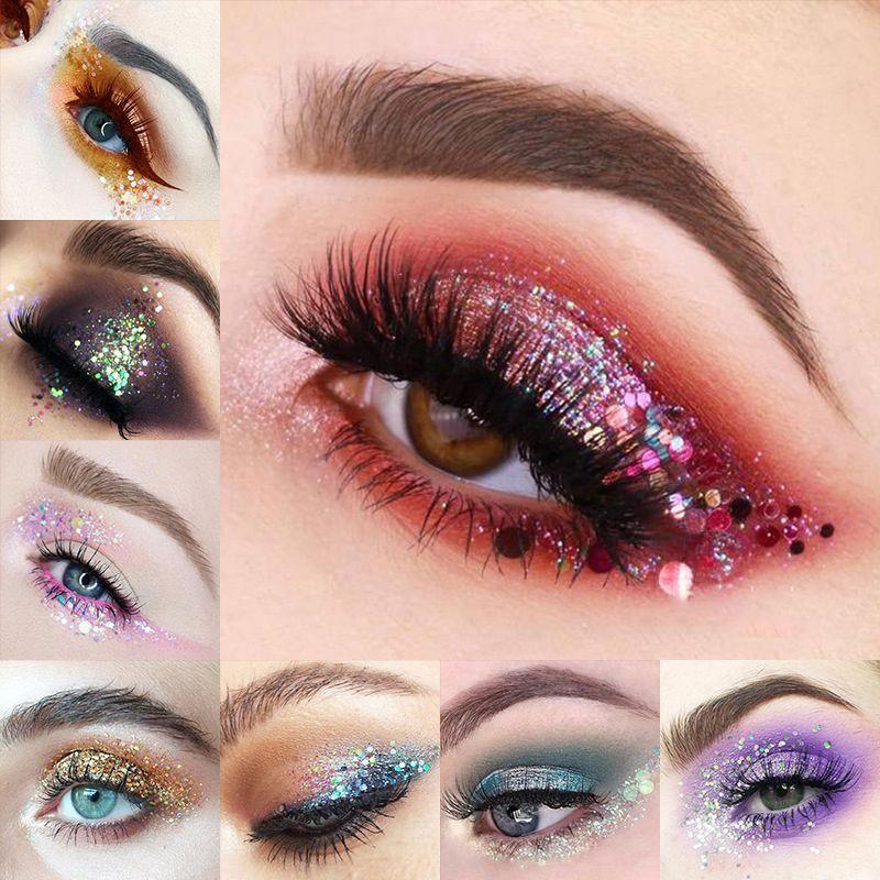 Givenone Glitter Sequin Eyeshadow Star Makeup Shining