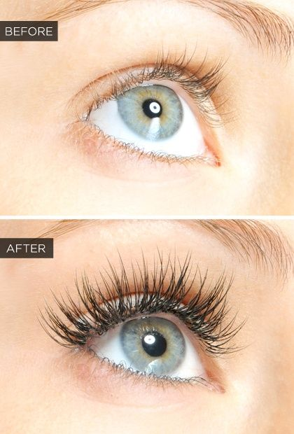 32a3a531d77 A before and after :) | All about Eyelash Extensions | Beauty hacks ...