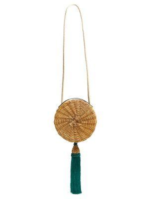 Click here to buy Wai Wai Balaio tasselled woven-rattan bag at MATCHESFASHION.COM
