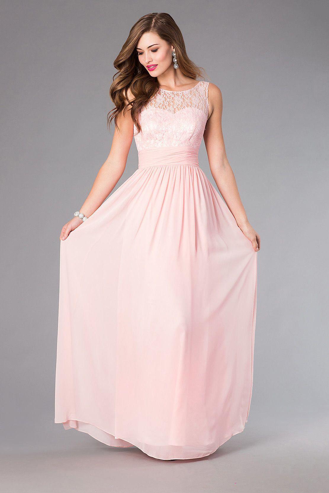 Photo of Bridesire – Sheath Scoop bodenlange Kleidung [BDNDQ8769] – 129,05 €: Braut …
