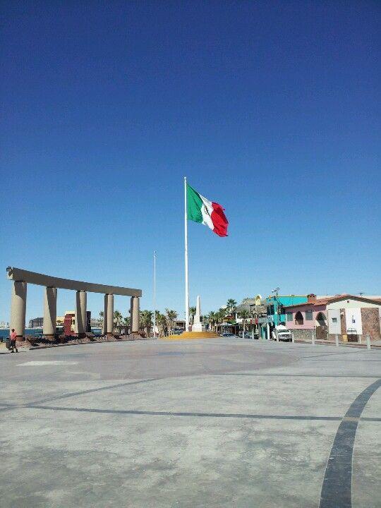 Malecon in Puerto Penasco (Rocky Point)