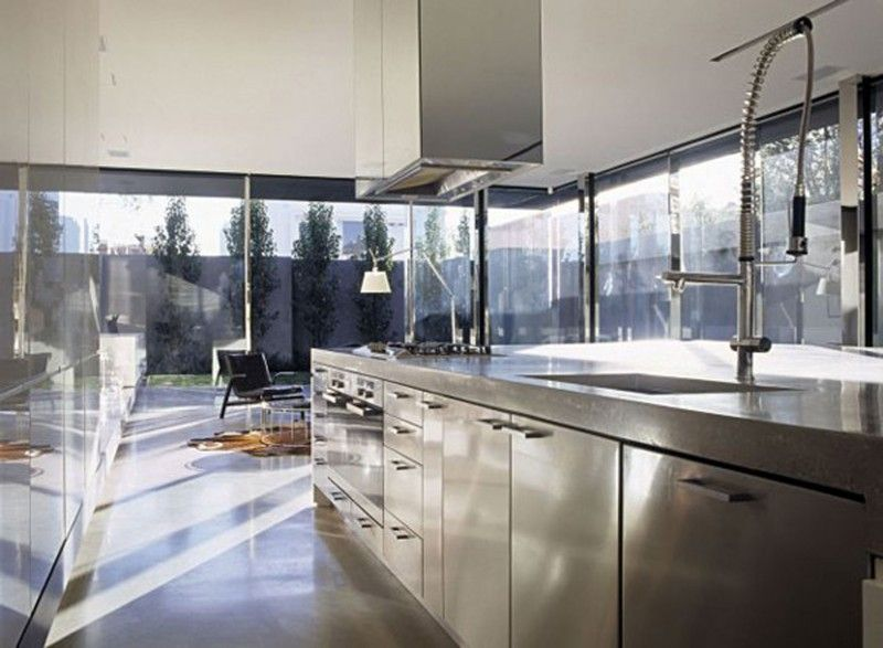 Contemporary Kitchen Designers Brilliant Modern Interior Design For A Contemporary Concrete House In Decorating Design