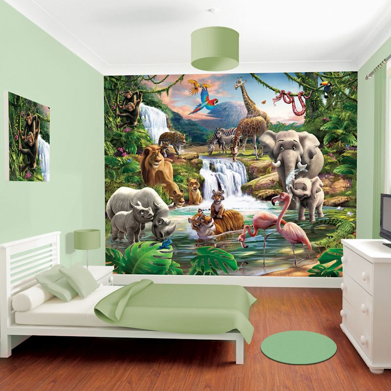 Walltastic Jungle Adventure Room Decor Kit - http://godecorating.co.uk/walltastic-jungle-adventure-room-decor-kit/