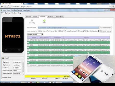 huawei y511 u10 flash with spflashtool | technology | Android