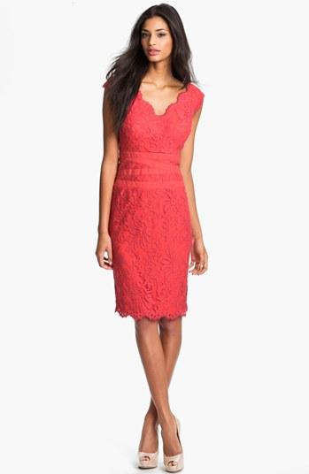 #Tadashi Shoji            #Dresses                  #Tadashi #Shoji #Lace #Tulle #Sheath #Dress #(Regular #Petite)                Tadashi Shoji Lace & Tulle Sheath Dress (Regular & Petite)                                              http://www.seapai.com/product.aspx?PID=5458996