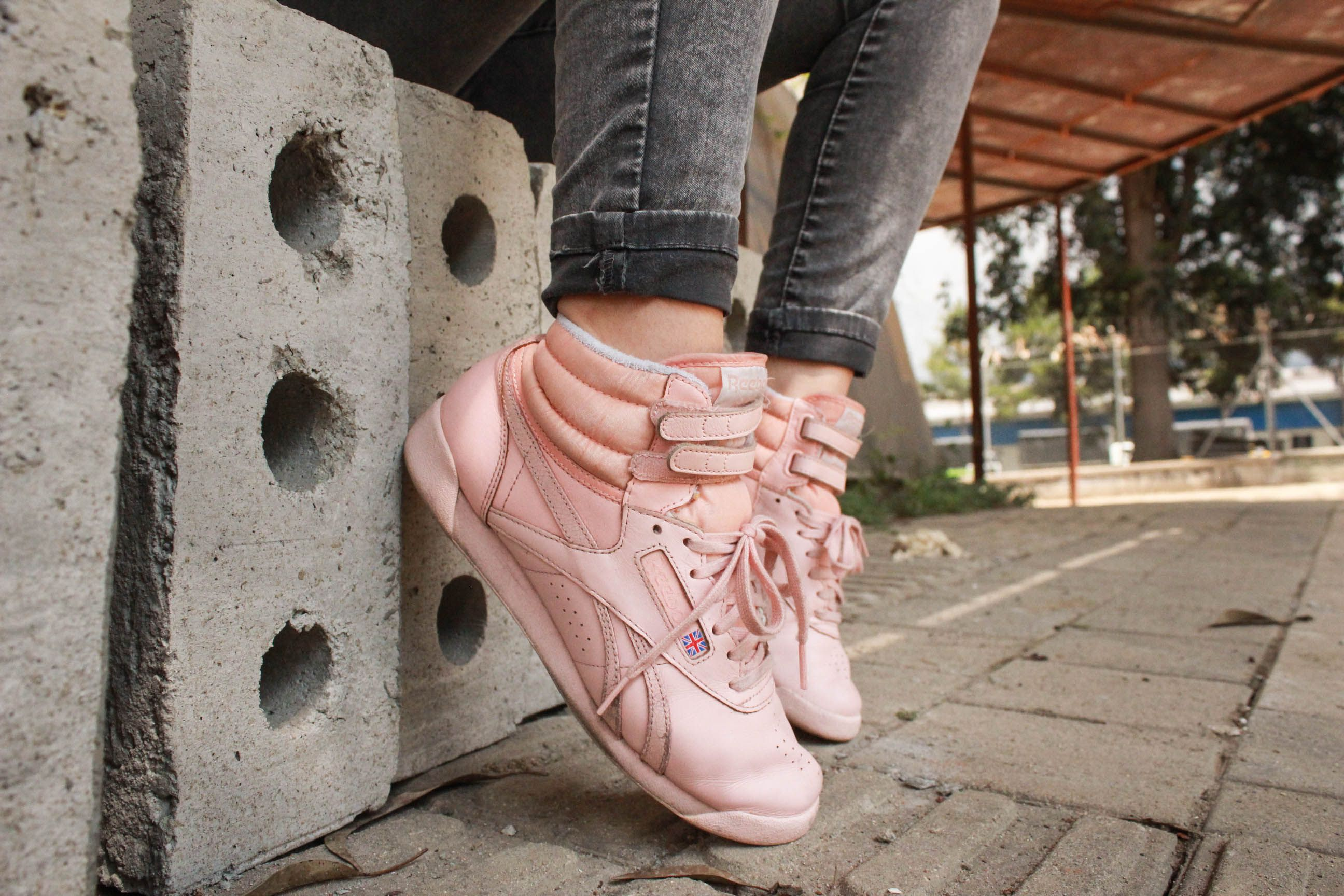 #Rebook #FreeStyle #Pink #Street #Style