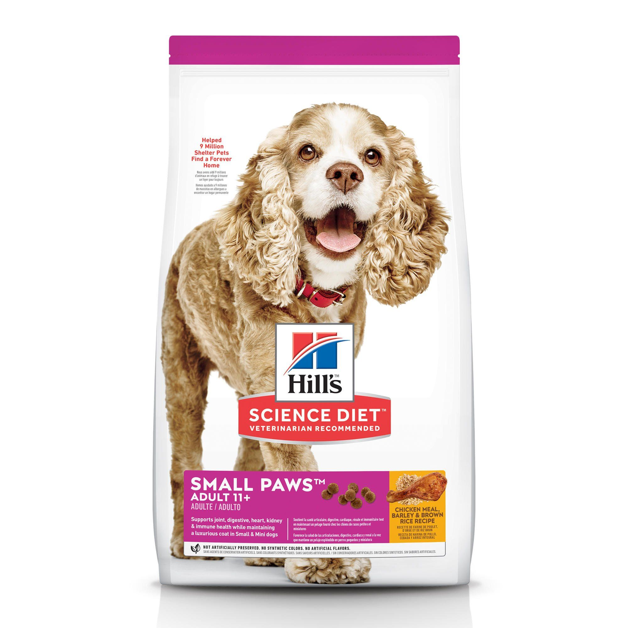 Hill S Science Diet Adult 11 Small Paws Chicken Meal Barley