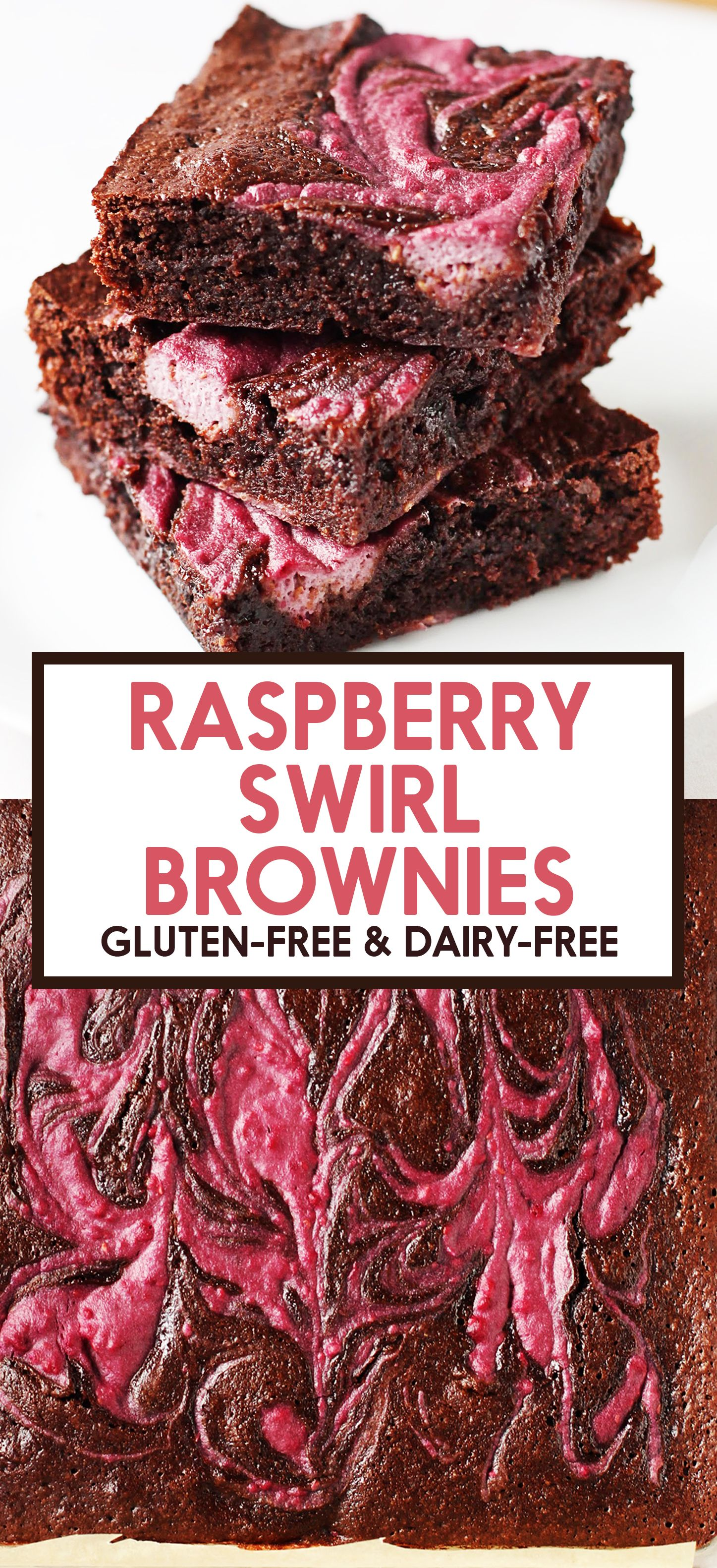 Raspberry Swirl Brownies Recipe Chocolate Raspberry Brownies