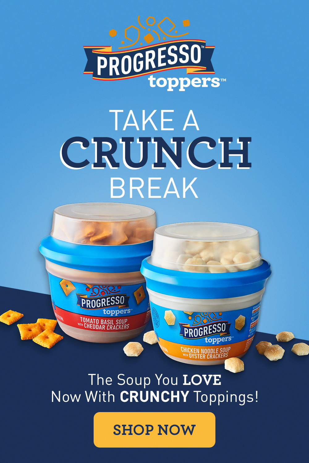 Tasty Lunch Ready Fast With Progresso Toppers In 2021 Chicken Oyster Unique Recipes Tasty [ 1500 x 1000 Pixel ]