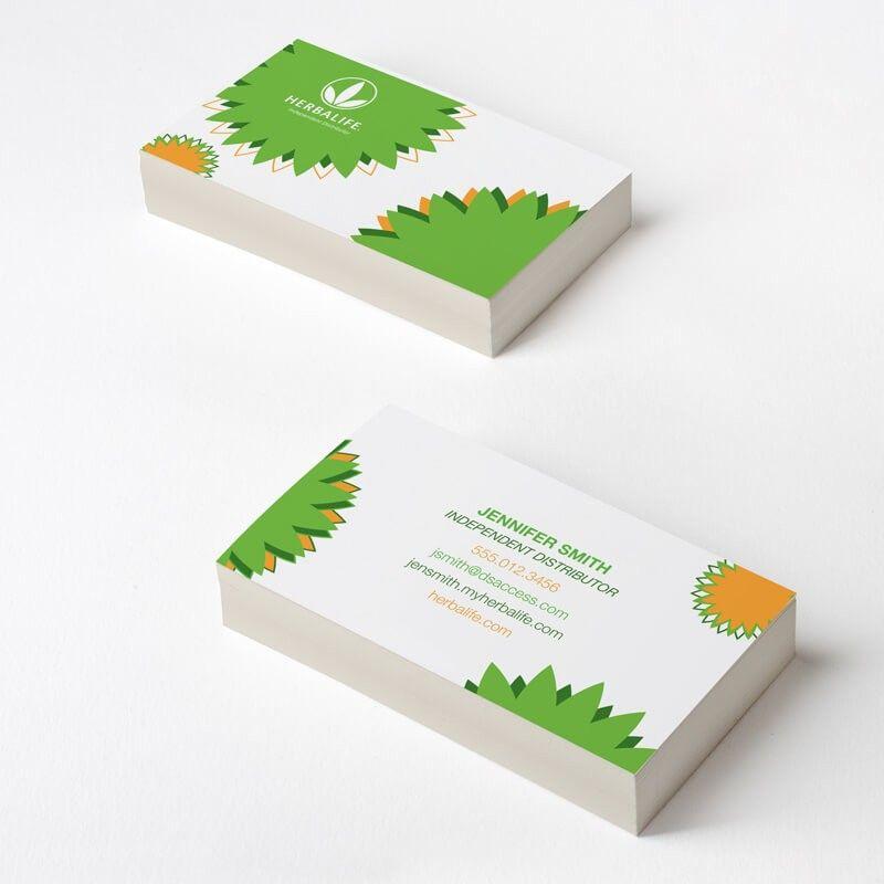 Herbalife Lotus Business Card | Lotus and Business