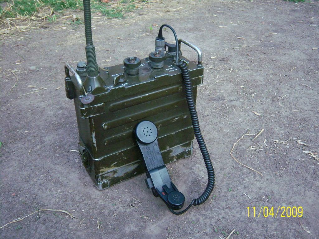 AN/PRC 77 Radio Set is a manpack, portable VHF FM combat-net