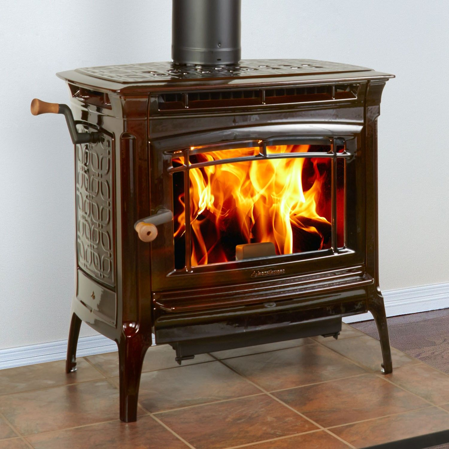 Hearthstone Manchester 8360 Wood Heats Up To 2 400 Sq Ft Firebox. Enameled  Steel Bathtub - Enameled Wood Stove - Interior Home Interior & Decorating