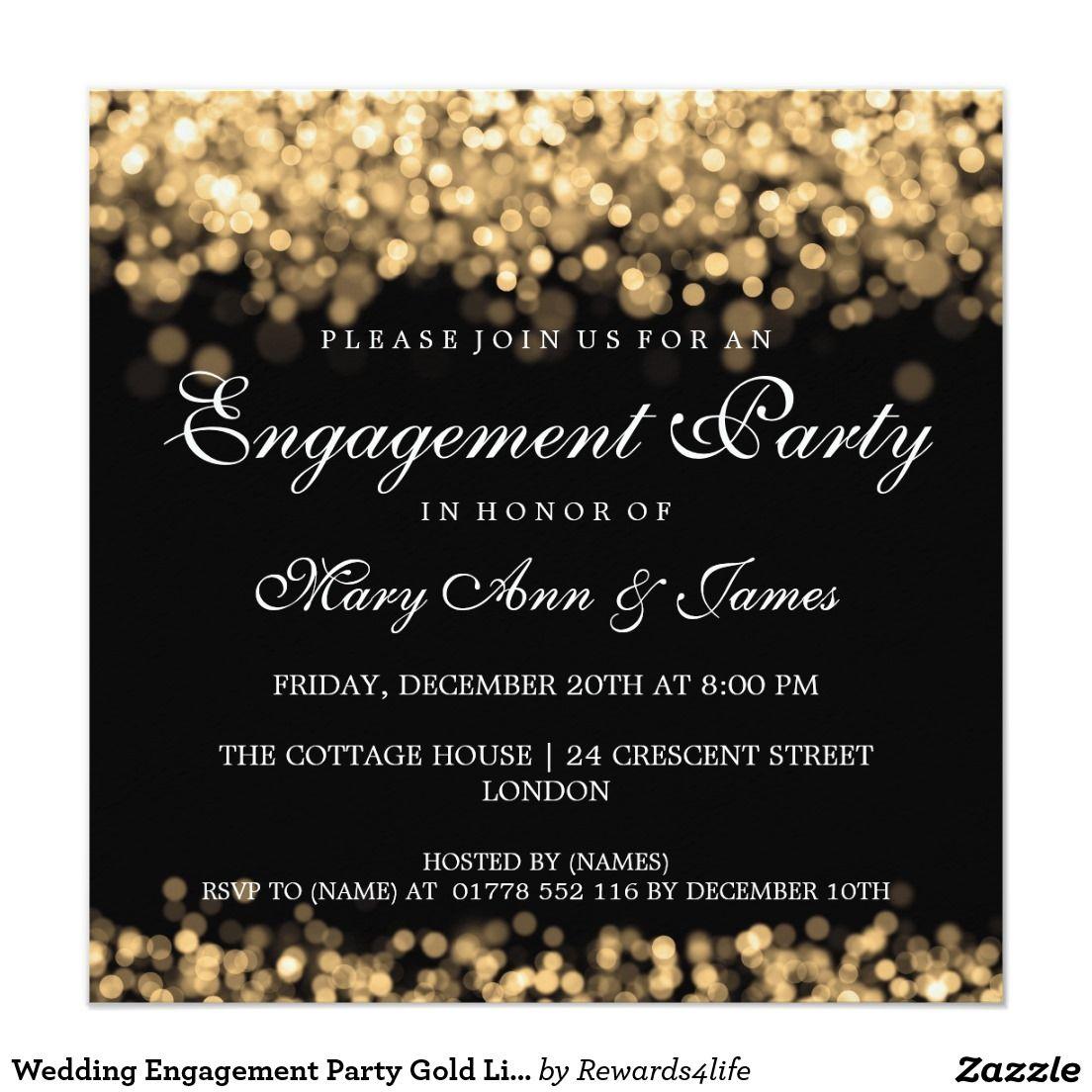 Engagement invitations | Engagements, Wedding and Wedding