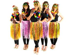 Hawaiian Hula S Hen Night Theme Last Of Freedom