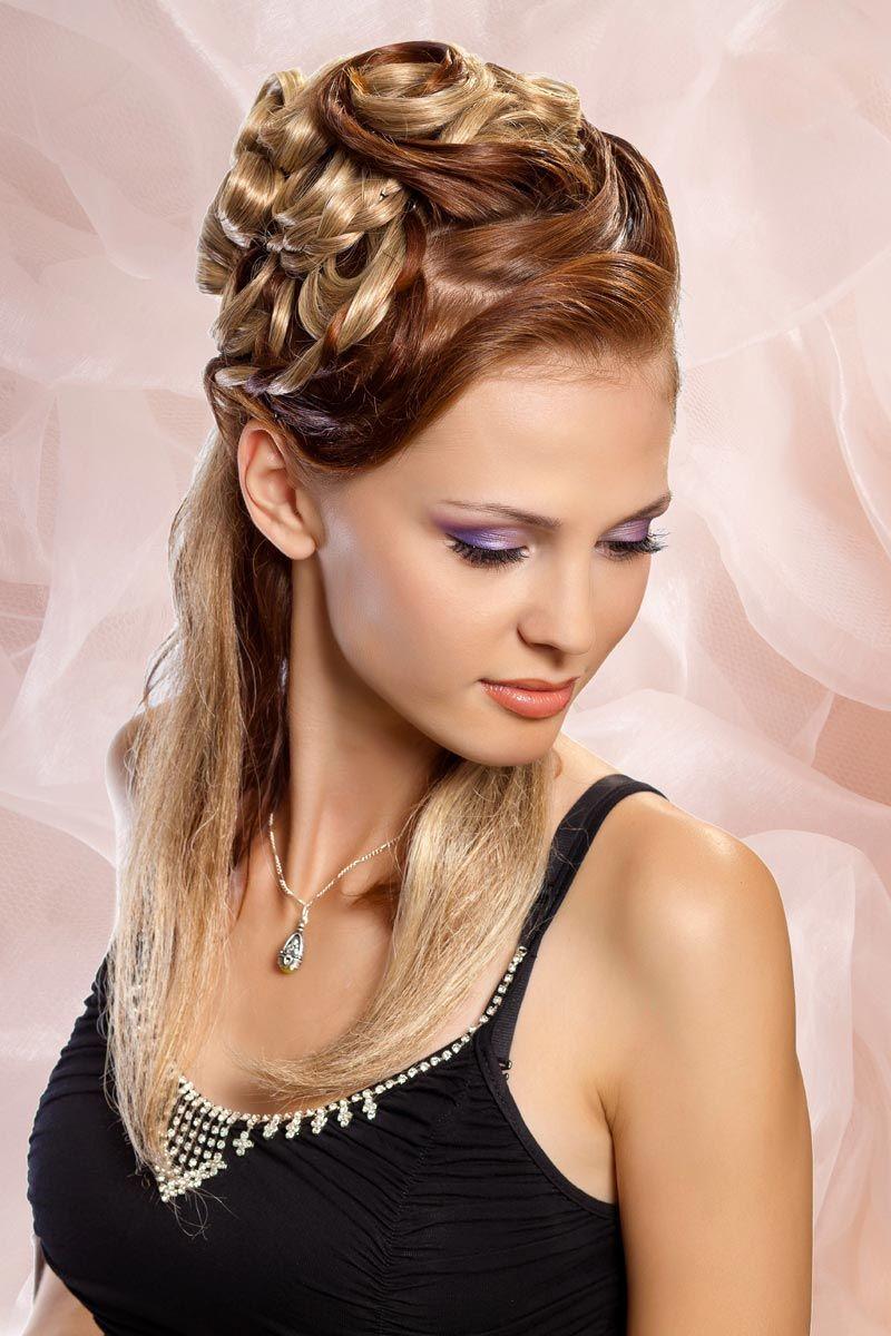 Steckfrisur Für Lange Haare Schöne Hochsteckfrisuren Pinterest
