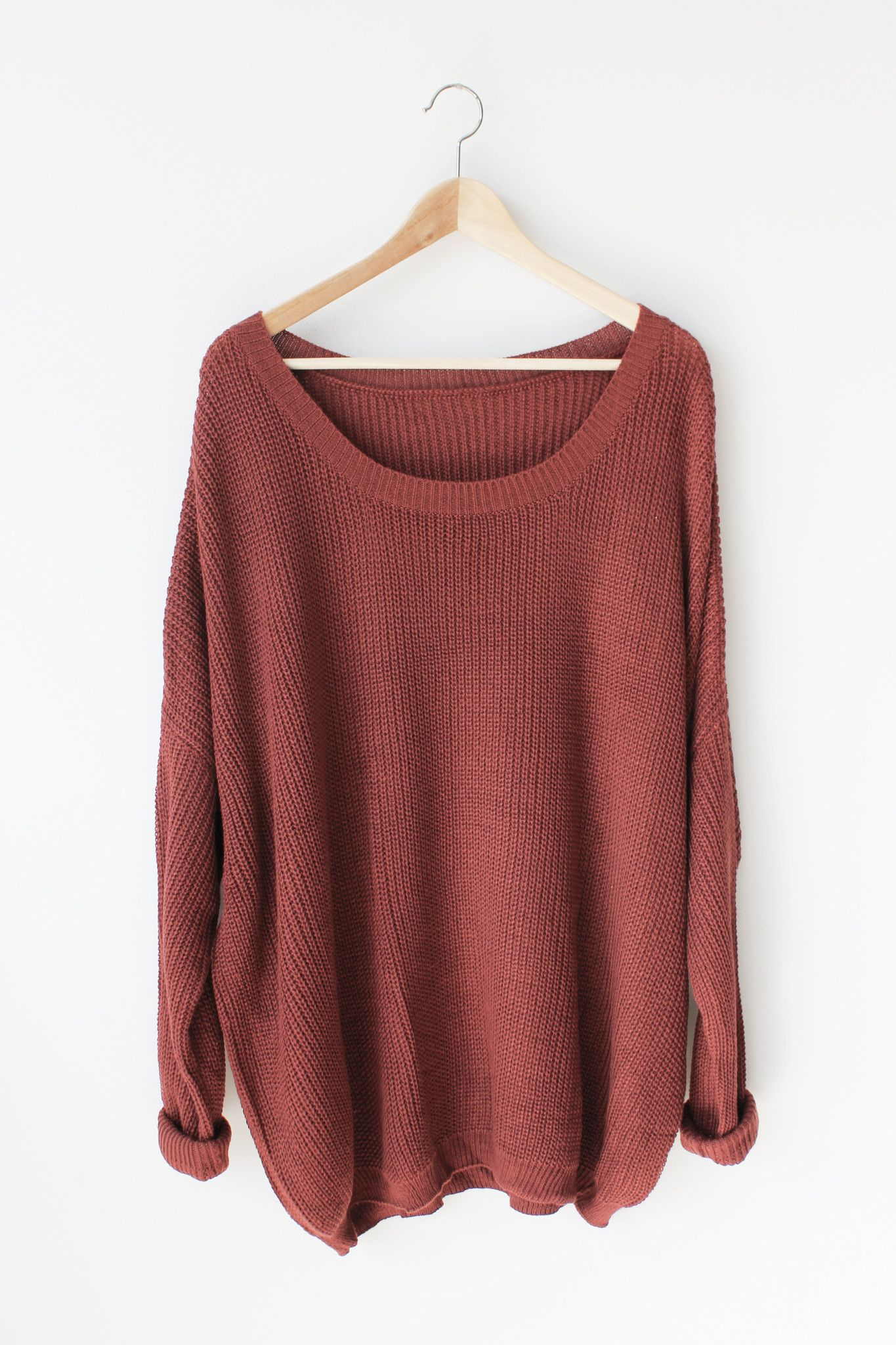 """- Details - Size - Shipping - • 55% Cotton 45% Acrylic • Soft oversize knit sweater • Hand Wash • Line dry • U.S.A • Measured from small • Length 29.5"""" • Chest 32"""" • Waist 20"""" - Free domestic shipping"""
