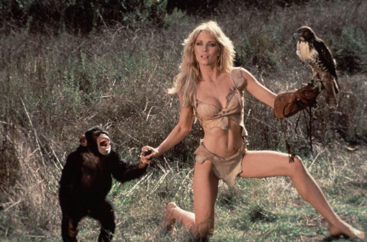 Tanya Roberts - Beastmaster  Sci-Fi Ladies  Actresses, Hottest Female Celebrities, Jungle Queen-7874