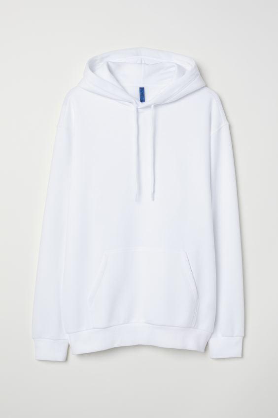 Hoodie White Men H M Us White Hoodie Outfit Hooded Sweatshirts White Hoodie