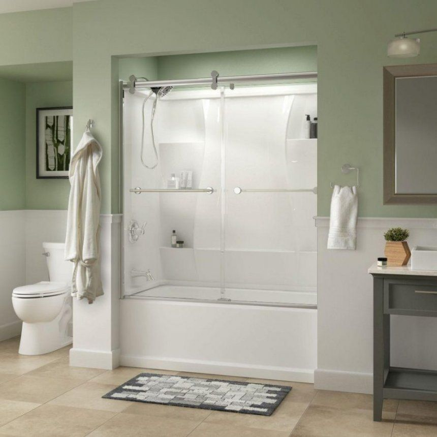 seamless tub surround home decor how to choose the right bath shower ...