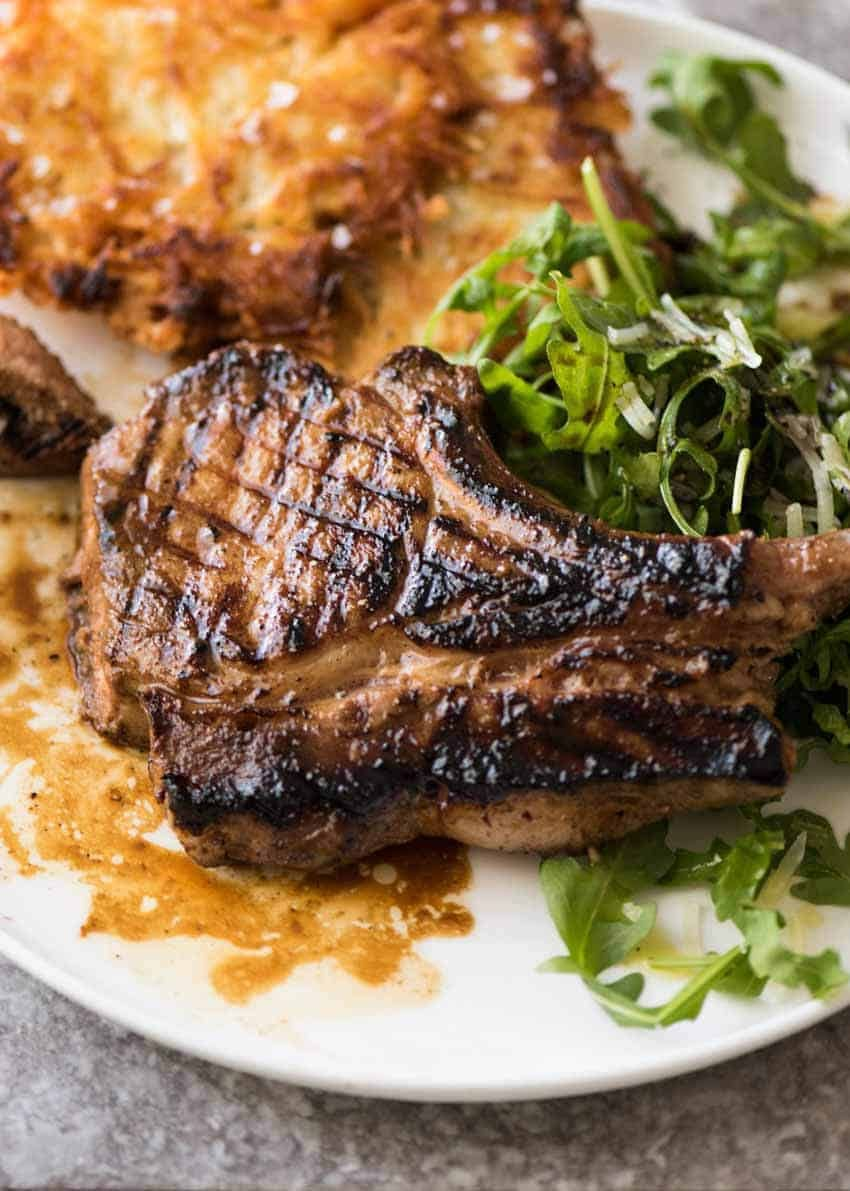 A Great Pork Chop Marinade