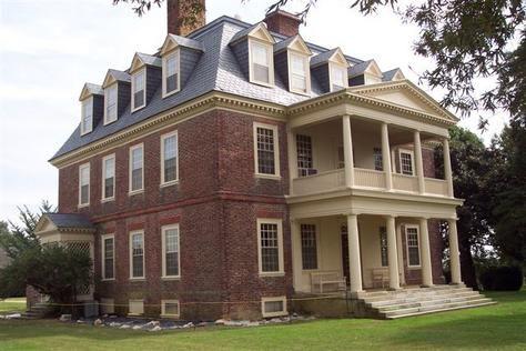 Shirley Plantation in Virginia.
