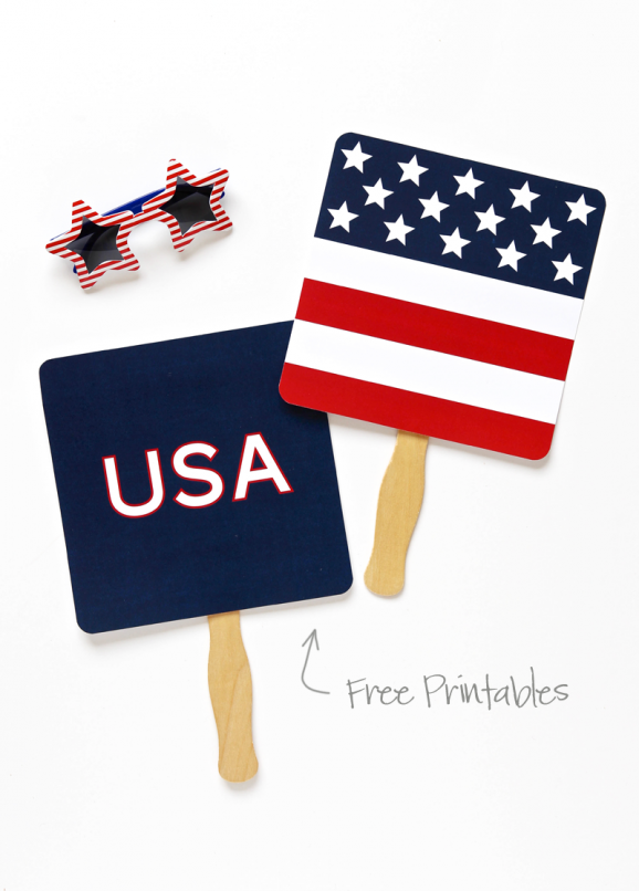 Free Printable Parade Fan 4 De Julio ffec282b7