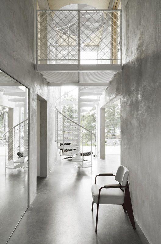 Six Walls House Arrhov Frick Arkitektkontor House Simple House Coffee Shops Interior