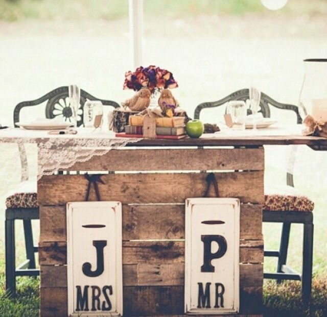 C & S Sweetheart Table.