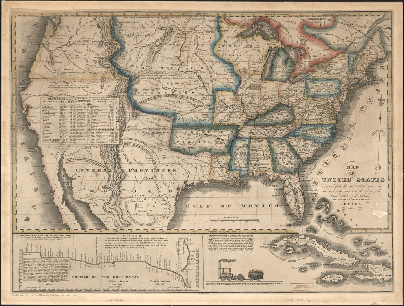 1814 Map Of The United States Included Is The Short Live State Of Franklin Betweentennessee And North Carolina Old Maps Pinterest Trees