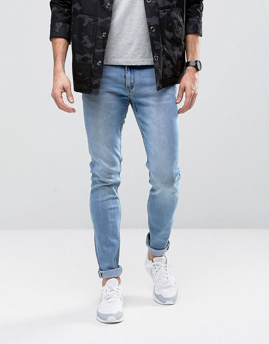 Fit Skinny Monday Cheap Jeans Stonewash In Blue Tight Zw8nFqI