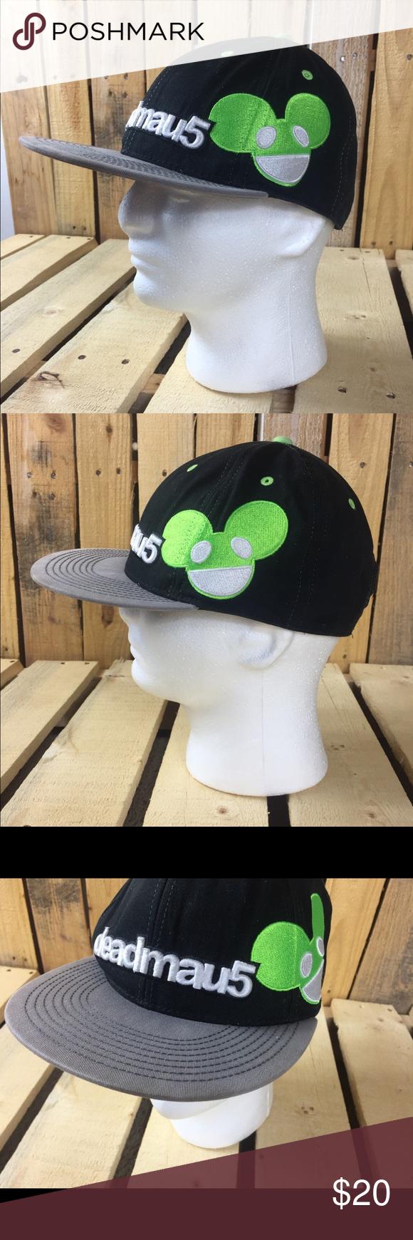fb83d15fae3 Deadmau hat cap snapback widebrim in posh png 580x1740 Deadmau5 green hat