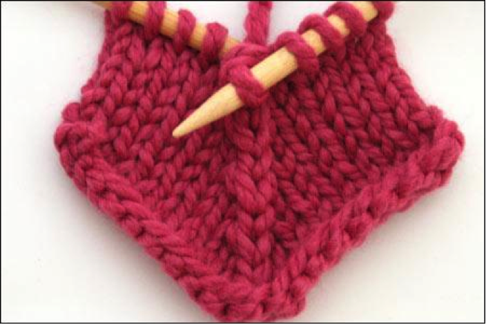 Knitting Decreases Slant Left : Discover different double decreases learning crochet
