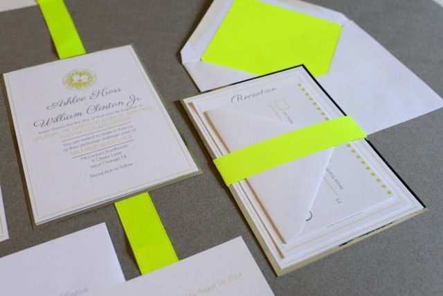 custom neon invites #Love Letters Studio