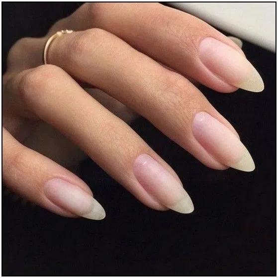 134 Lovely Manicure Designs Ideas For Nail Art Page 40 Armaweb07 Com Long Natural Nails Natural Nails Natural Nail Designs