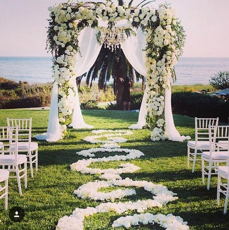 Stylish Wedding Ceremony Decor: Pin By A Drewz On Wedding Decoration