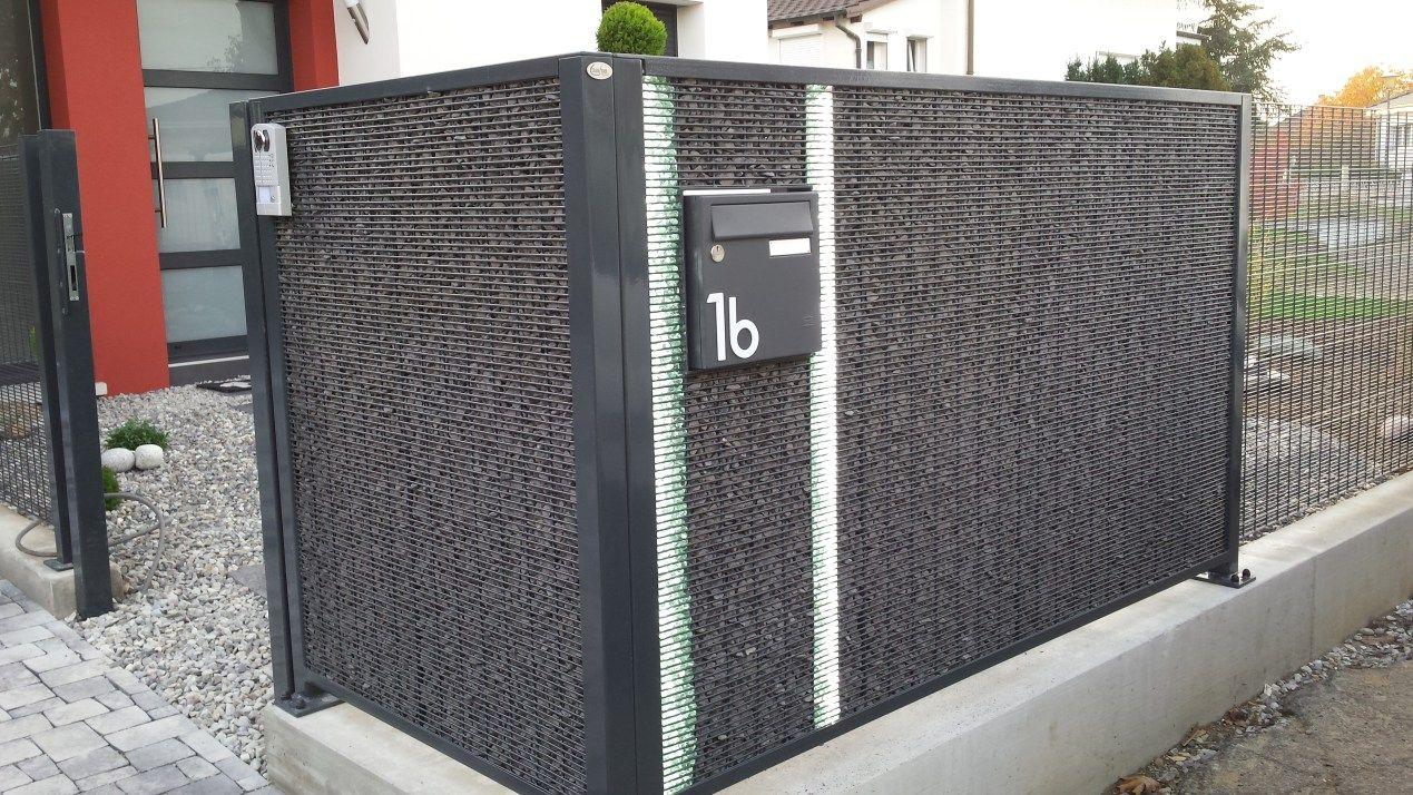 Mieux que les murs en gabion les panneaux modulaires en for Panneaux decoratifs pour murs exterieurs