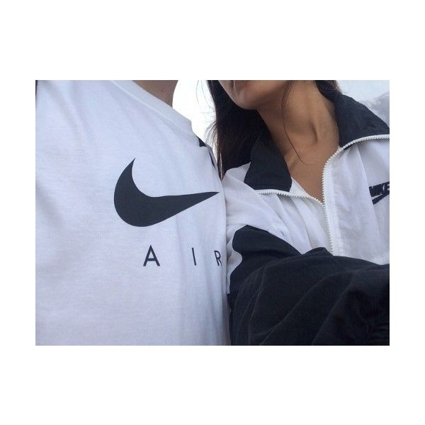 love couple girl cute white black UP Grunge boy nike skin urban brown... ❤  liked on Polyvore featuring pictures, couples and neutral | Pinterest |  Boys ...