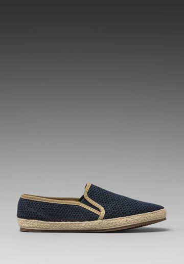 H BY HUDSON Belafonte Mesh Slip-On in Navy at Revolve Clothing - Free Shipping!