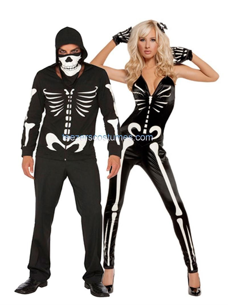 Adult halloween couple