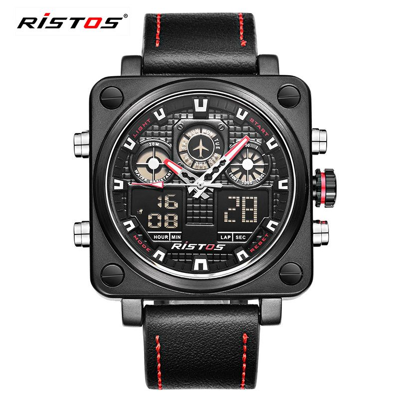 watch big black digital men mens military sports for watches infantry products tactical face large wrist