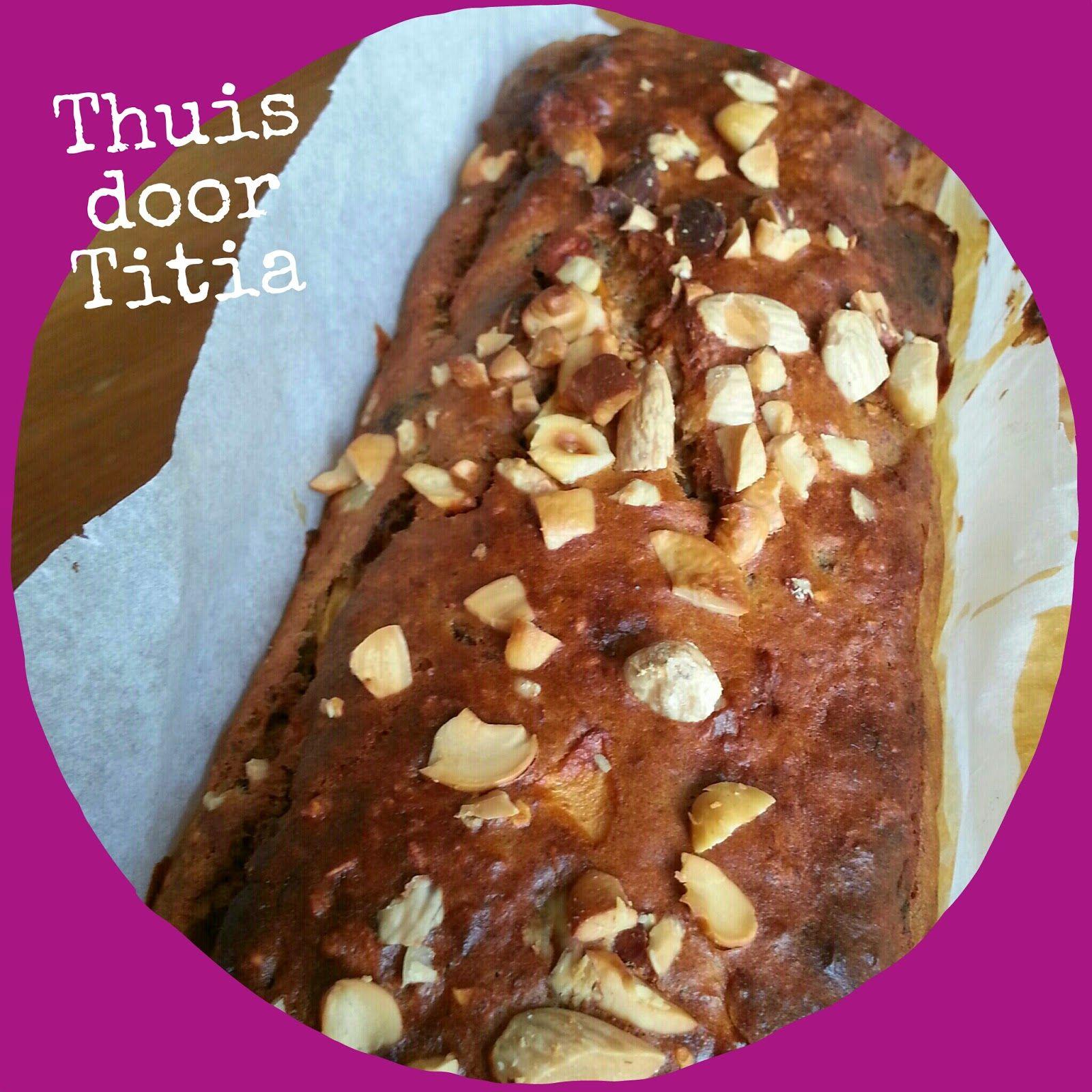 Thuis door Titia: Bananenbrood