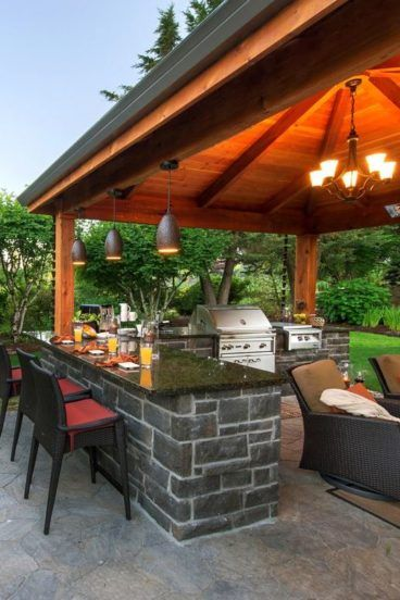 Check out these awesome built-ins and creative DIY ideas that are perfect for any backyard party. ideas about Patio bar Outdoor bars near me and ... & Pin by Theresa Noel on Outdoor kitchen/bars/patio | Pinterest ...