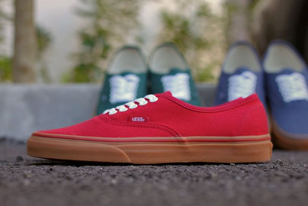 3995643c7b Vans Authentic Gum Pack - Disponible - Sneakers.fr